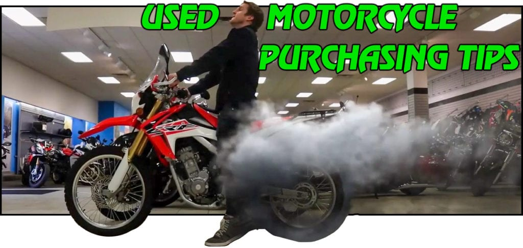 HOW TO PURCHASE A USED MOTORCYCLE